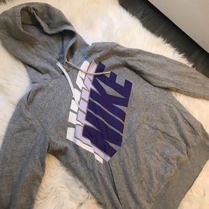 Grey Nike Sweatshirt Medium